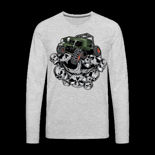 Grim Jeep - Men's Premium Long Sleeve T-Shirt
