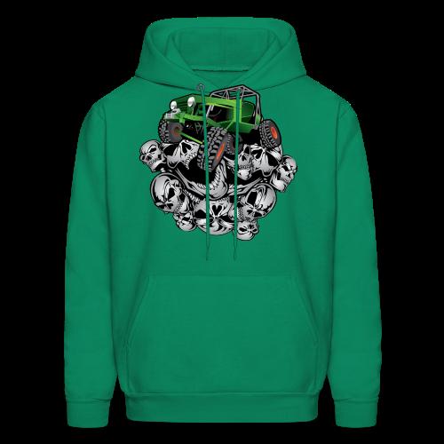 The Green Grim Jeeper - Men's Hoodie