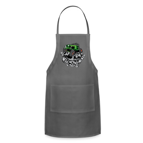 The Green Grim Jeeper - Adjustable Apron