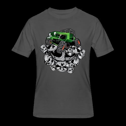 The Green Grim Jeeper - Men's 50/50 T-Shirt