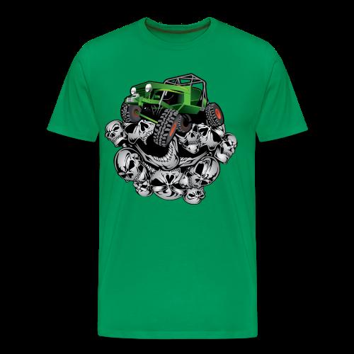 The Green Grim Jeeper - Men's Premium T-Shirt