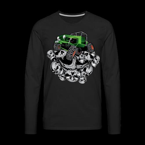 The Green Grim Jeeper - Men's Premium Long Sleeve T-Shirt