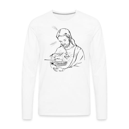 M60 Jesus (Women) - Men's Premium Long Sleeve T-Shirt