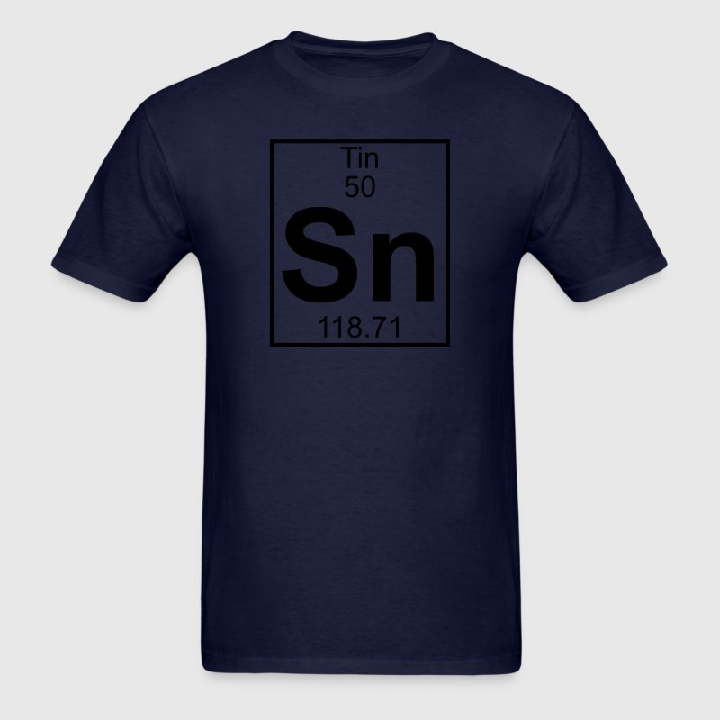 Element 50 - Sn (tin) - Full T-Shirts - Men's T-Shirt