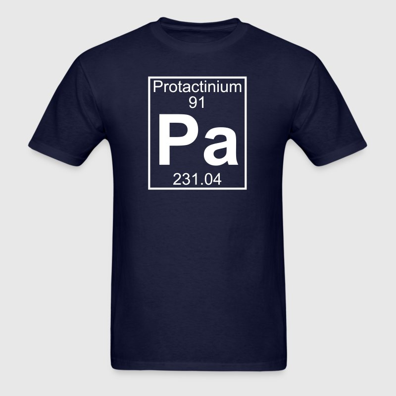 Element 91 - pa (protactinium) - Full T-Shirts - Men's T-Shirt