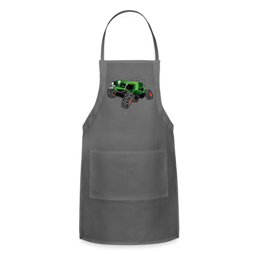 green jeep shirt - Adjustable Apron