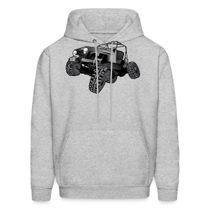 grey jeep shirt - Men's Hoodie