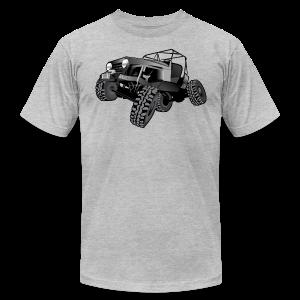 grey jeep shirt - Men's Fine Jersey T-Shirt