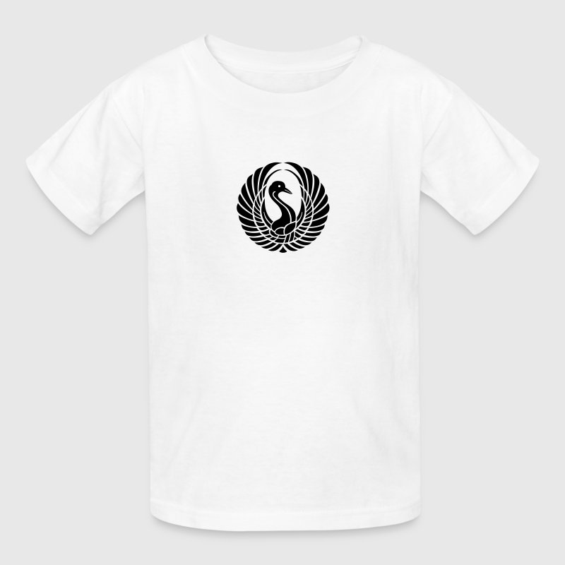 Swan - Bird - Symbol - Goose - Fowl - Wings Kids' Shirts - Kids' T-Shirt