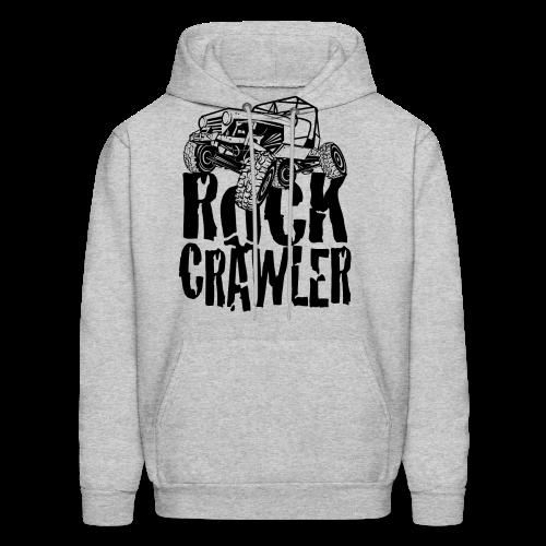 Rock Crawling Jeep - Men's Hoodie