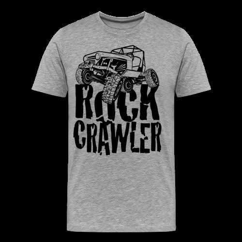 Rock Crawling Jeep - Men's Premium T-Shirt