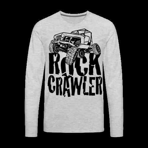 Rock Crawling Jeep - Men's Premium Long Sleeve T-Shirt
