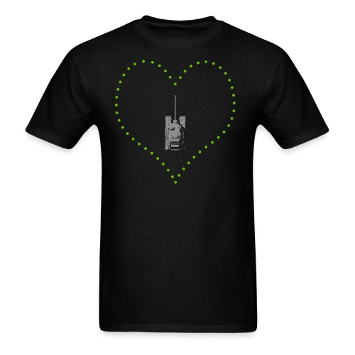 From Arty With Love (Women) - Men's T-Shirt