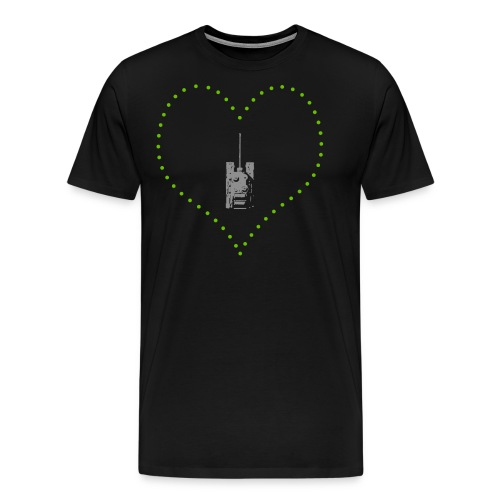From Arty With Love (Women) - Men's Premium T-Shirt