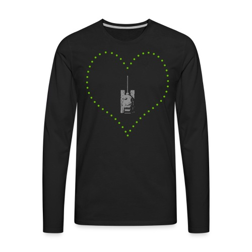 From Arty With Love (Women) - Men's Premium Long Sleeve T-Shirt