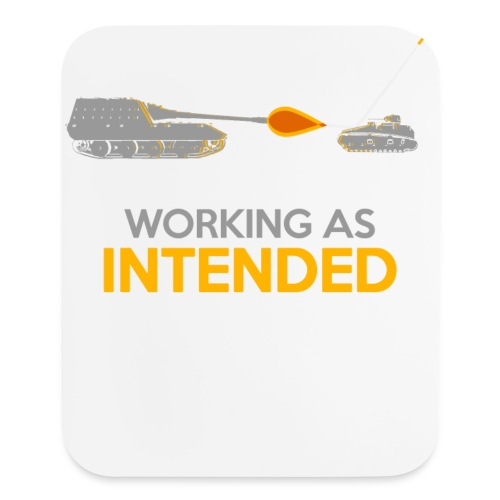 Working as Intended - Mouse pad Vertical