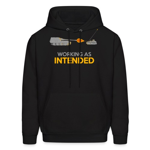Working as Intended - Men's Hoodie