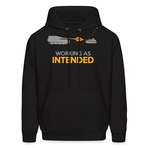 Working as Intended - Men's Hoodie