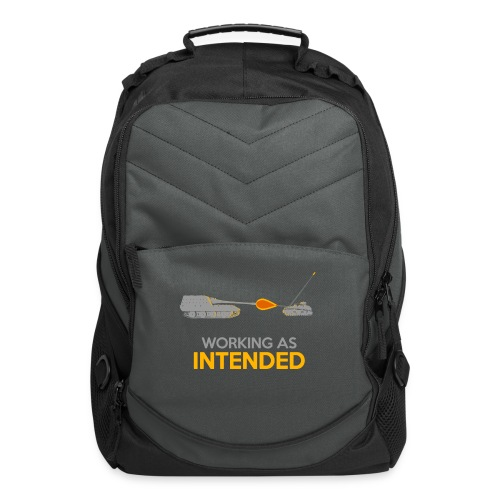 Working as Intended - Computer Backpack
