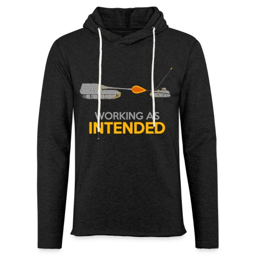 Working as Intended - Unisex Lightweight Terry Hoodie