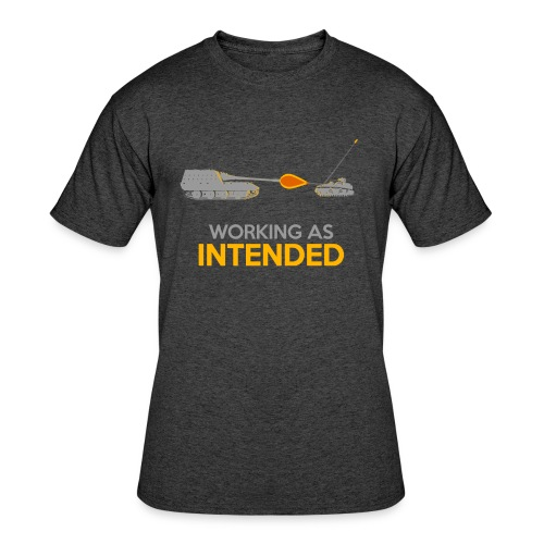 Working as Intended - Men's 50/50 T-Shirt