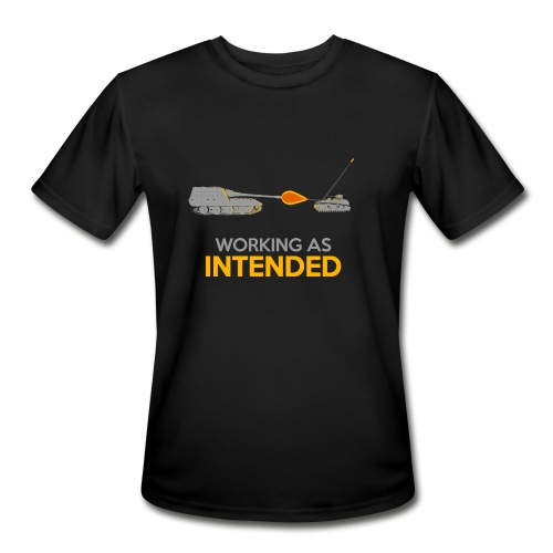Working as Intended - Men's Moisture Wicking Performance T-Shirt