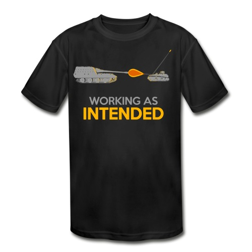 Working as Intended - Kids' Moisture Wicking Performance T-Shirt