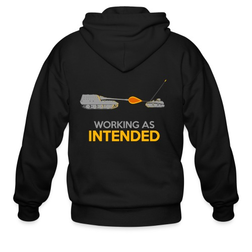 Working as Intended - Men's Zip Hoodie