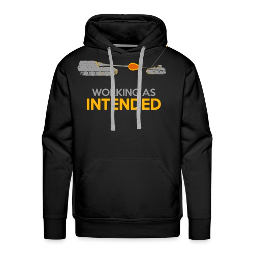 Working as Intended - Men's Premium Hoodie