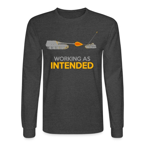 Working as Intended - Men's Long Sleeve T-Shirt