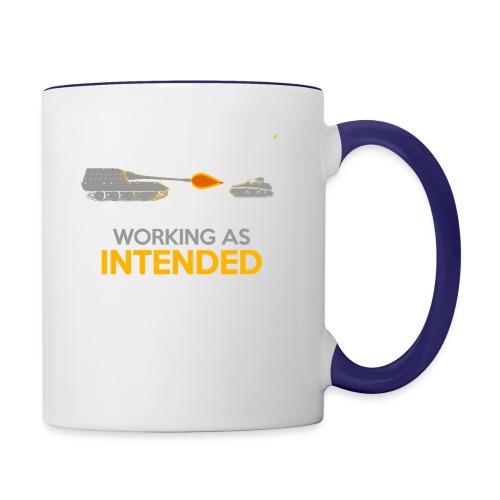 Working as Intended - Contrast Coffee Mug