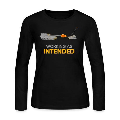 Working as Intended - Women's Long Sleeve Jersey T-Shirt