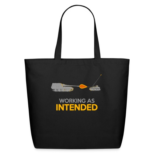 Working as Intended - Eco-Friendly Cotton Tote