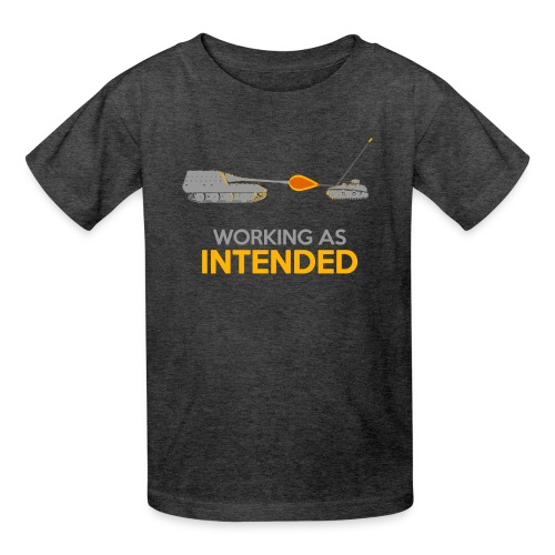 Working as Intended - Kids' T-Shirt