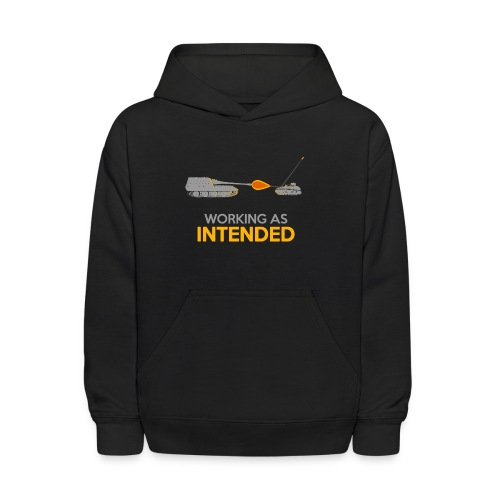 Working as Intended - Kids' Hoodie