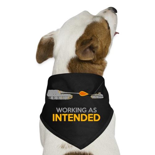 Working as Intended - Dog Bandana