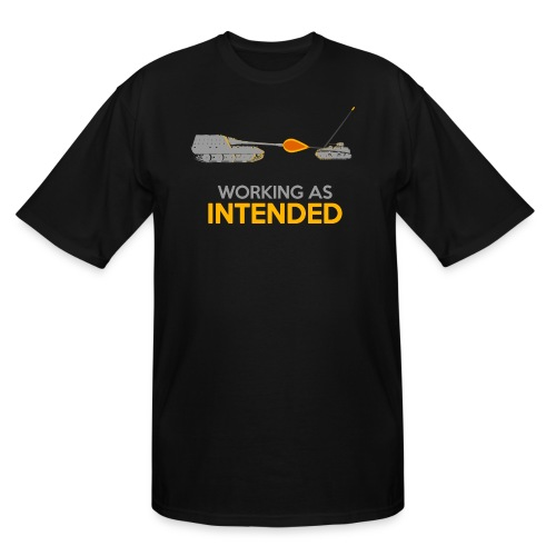 Working as Intended - Men's Tall T-Shirt