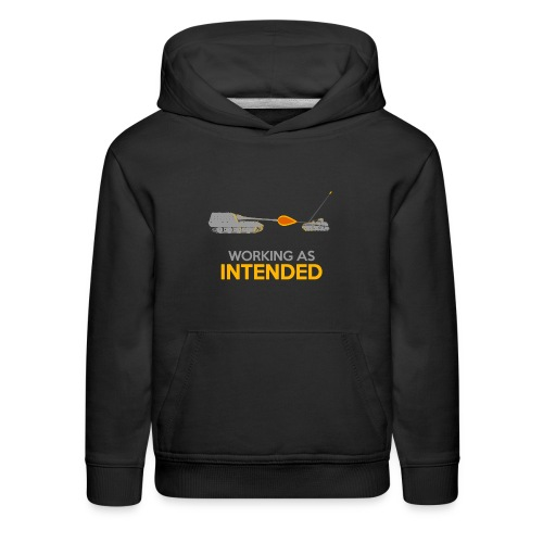 Working as Intended - Kids' Premium Hoodie