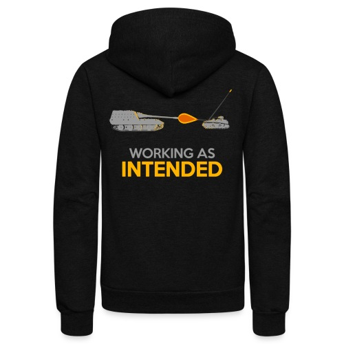 Working as Intended - Unisex Fleece Zip Hoodie