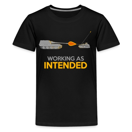 Working as Intended - Kids' Premium T-Shirt