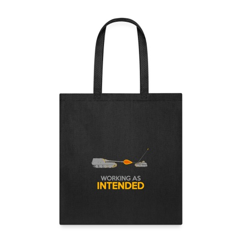 Working as Intended - Tote Bag