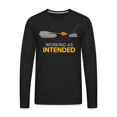 Working as Intended - Men's Premium Long Sleeve T-Shirt
