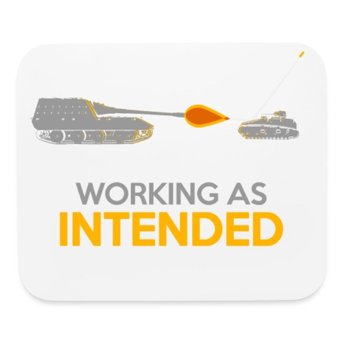 Working as Intended - Mouse pad Horizontal