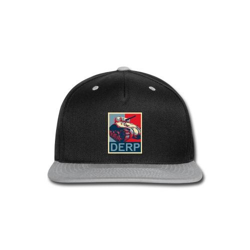 Derp (Women) - Snap-back Baseball Cap