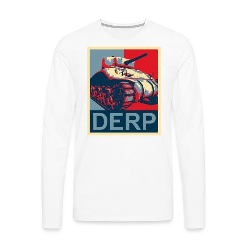 Derp (Women) - Men's Premium Long Sleeve T-Shirt