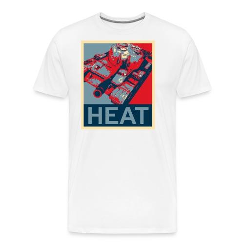 HEAT (Women) - Men's Premium T-Shirt