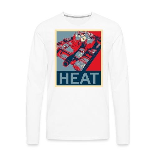 HEAT (Women) - Men's Premium Long Sleeve T-Shirt