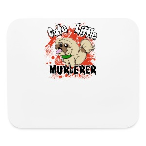 Cute Little Murderer - Mouse pad Horizontal
