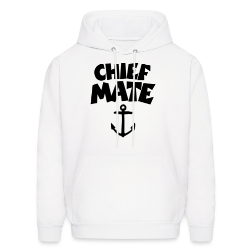 Chief Mate T-Shirt Anchor (White/Front) - Men's Hoodie