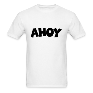 Ahoy T-Shirt (White/Black) Men - Men's T-Shirt